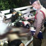 นครนายก บิ๊กไบค์เสียหลักหลุดโค้งชนราวสะพาน หน้าทางเข้าน้ำตกวังตะไคร้เสียชีวิต