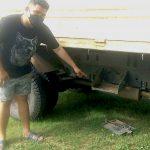 นครนายก โจรยุคโควิดระบาดย่องขโมยแบตเตอรี่รถบรรทุก